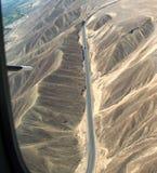 El volar sobre la carretera Panamerican Foto de archivo libre de regalías