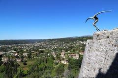 El volar sobre Provence Imagenes de archivo