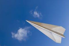 El volar a través Imagen de archivo libre de regalías