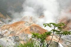 El volcán Fotos de archivo libres de regalías