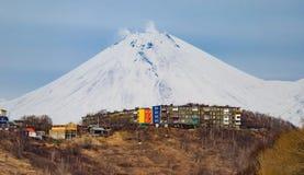 El volcán Imagen de archivo libre de regalías