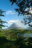 Volcán de Arenal, Costa Rica Fotos de archivo libres de regalías
