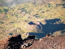 El volcán de Pico Imagen de archivo libre de regalías