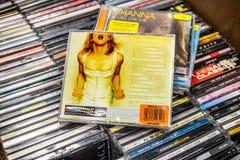 El volumen m?s grande 2 GHV2 de los hit del ?lbum del CD de Madonna en la exhibici?n en venta, el m?sico y el cantante americanos imagen de archivo