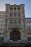 El Vooruit es un auditorio histórico de la sociedad cooperativa adelante Fotografía de archivo