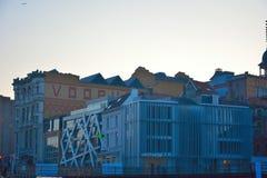 El Vooruit es un auditorio histórico de la sociedad cooperativa adelante Foto de archivo libre de regalías