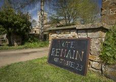 El voto sigue siendo muestra para la campa?a europea de Brexit del refer?ndum del 23 de junio de 2016 - Newington del sur, Oxford fotos de archivo