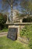 El voto sigue siendo muestra para la campa?a europea de Brexit del refer?ndum del 23 de junio de 2016 - Newington del sur, Oxford imagen de archivo libre de regalías