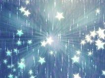 El vuelo stars la ilustración Fotos de archivo libres de regalías