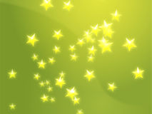 El vuelo stars la ilustración ilustración del vector