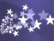 El vuelo stars la ilustración Fotografía de archivo