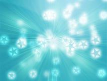 El vuelo stars la ilustración Imagen de archivo libre de regalías
