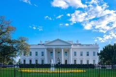 El Washington DC blanco de la casa imagen de archivo