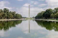 El Washington DC del obelisco Imagen de archivo libre de regalías