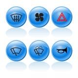Botones 2 del Web stock de ilustración