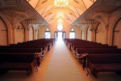 El Wedding en la iglesia Fotos de archivo