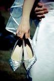 El Wedding se relaja Fotografía de archivo libre de regalías