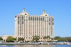 El Westin Savannah Harbor Golf Resort y balneario Foto de archivo