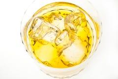 El whisky e hiela Imagen de archivo libre de regalías