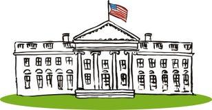 El Whitehouse stock de ilustración