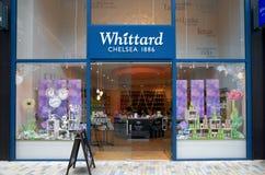 El Whittard de Chelsea Store en Bracknell, Inglaterra Imagenes de archivo