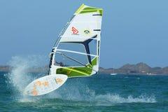 El Windsurfing Foto de archivo libre de regalías
