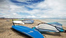 El Windsurfing Imagenes de archivo
