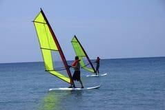 El WindSurfing Imagen de archivo