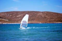 El Windsurfing Fotografía de archivo