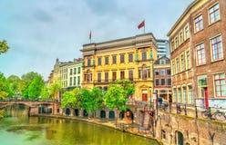 El Winkel van Sinkel, un edificio neoclásico en Utrecht, los Países Bajos imagen de archivo
