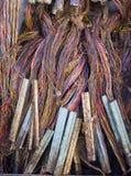 El wireing sucio Fotos de archivo libres de regalías