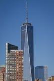 El World Trade Center de Nueva York una foto de archivo libre de regalías