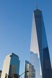 El World Trade Center de Nueva York una Imagen de archivo libre de regalías