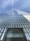 El World Trade Center mira para arriba fotos de archivo libres de regalías