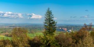 El Wrekin, Shropshire, Inglaterra, Reino Unido imágenes de archivo libres de regalías