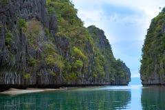 el wysp nido Philippines Obrazy Royalty Free