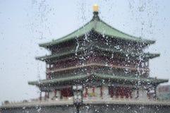 El ` XI una torre del tambor está situado en la ciudad antigua XI del ` Fotos de archivo