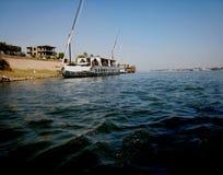 El yate en el mar Fotos de archivo