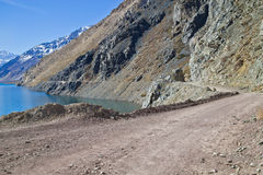 EL Yeso d'Embalse Images stock