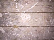 El yeso sucio cubrió entarimados de madera Imágenes de archivo libres de regalías