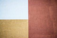 El yeso texturizado tres-coloreado Imagen de archivo libre de regalías