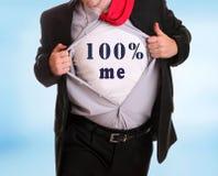 el 100% yo Foto de archivo libre de regalías