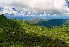 从El Yunque的看法 免版税图库摄影