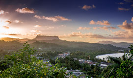 El Yunque Baracoa Cuba Royalty Free Stock Photo
