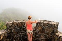 EL Yunque di punto di vista Immagine Stock