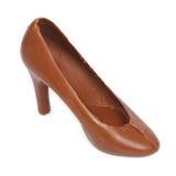 El zapato hizo el chocolate del ââof Fotos de archivo libres de regalías