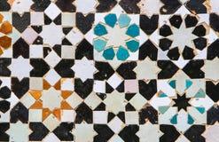 El zelidzh marroquí del mosaico Foto de archivo