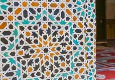El zelidzh marroquí del mosaico Imagenes de archivo