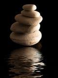 El zen empiedra la pila Foto de archivo