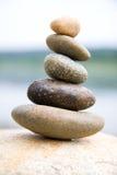 El zen tiene gusto de piedras Imágenes de archivo libres de regalías